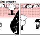 EmotoBot on Robot Island: sympathy