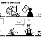 1:combat ultim 2:la torture du chien