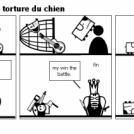 1:combat ultim 2:la torture du chien