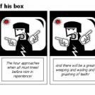 Bill the Klingon - Off his box