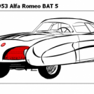 For Gerdbonk :-) 1953 Alfa Romeo BAT 5