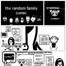 the random family comic