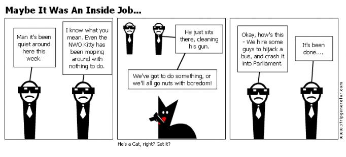 Maybe It Was An Inside Job...