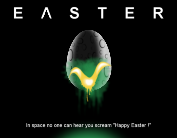 alien easter