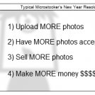 Microstocker's New Year Resolutions