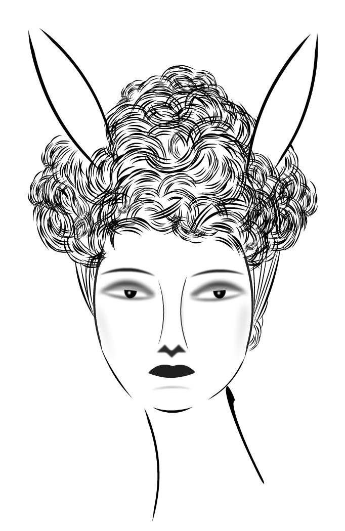 Gibson Girl Bunny