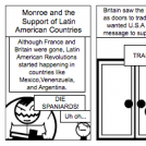 Monroe and the Support of Latin American Countri