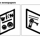 Wich's and Joe's newspapers