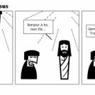 Le père, le fils et Jésus