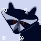 Raccoon SnowGlobe