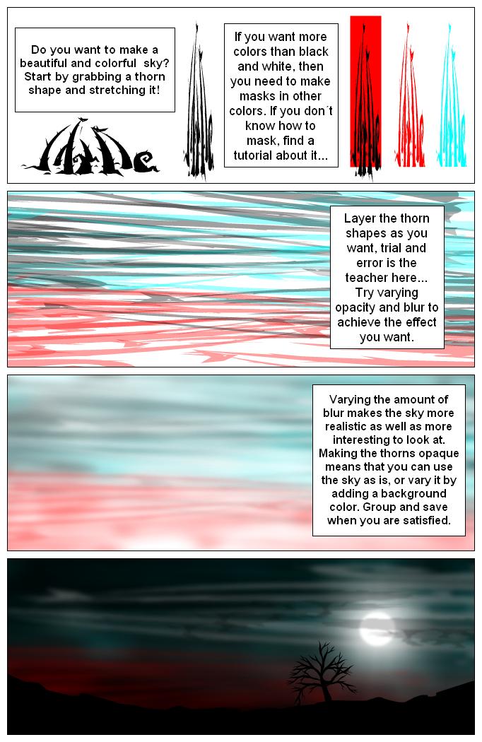 Sky tutorial