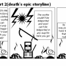 The first mission,part 2(death's epic storyline)