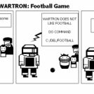 The Adventures of WARTRON: Football Game
