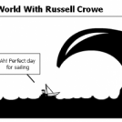 Fighting Around The World With Russell Crowe