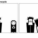 Always recycle
