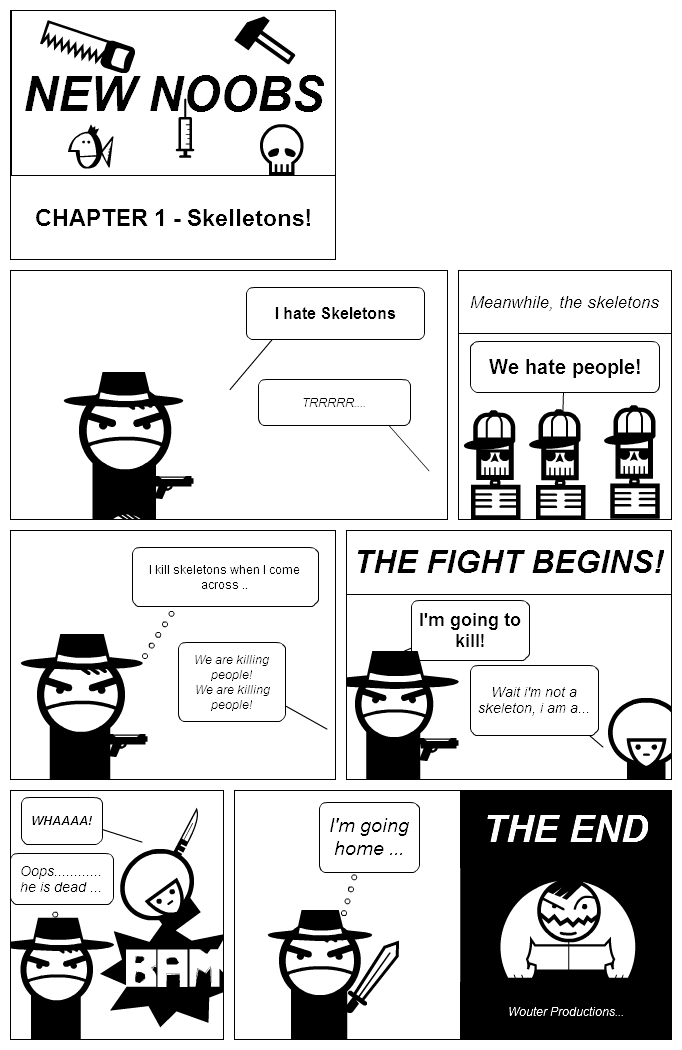 NEW NOOBS - Chapter 1