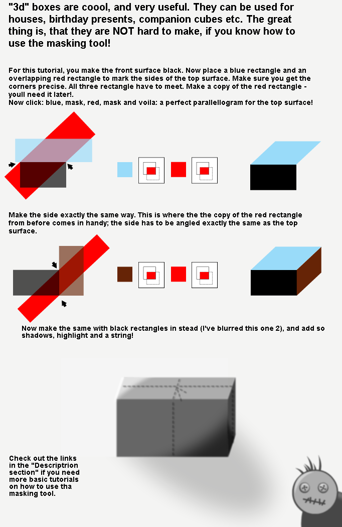 Tutorial - making boxes