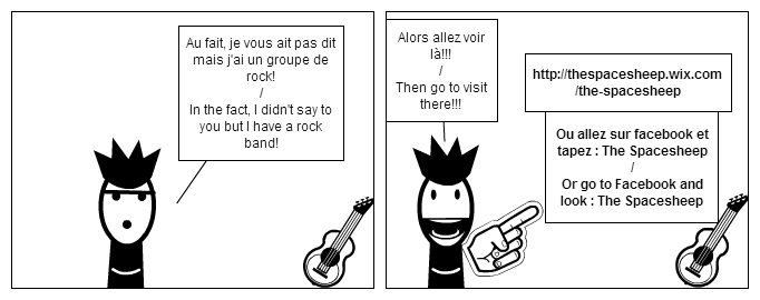 My rock band (version FR & english version)