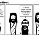 Jésus - traversée du désert