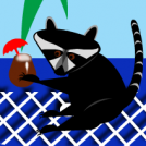 Aloha, Raccoons