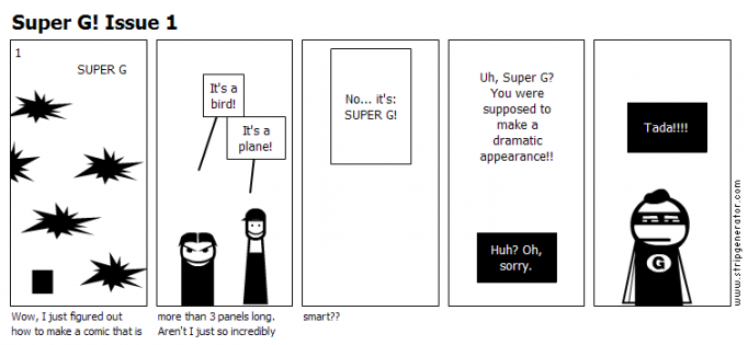 Super G! Issue 1