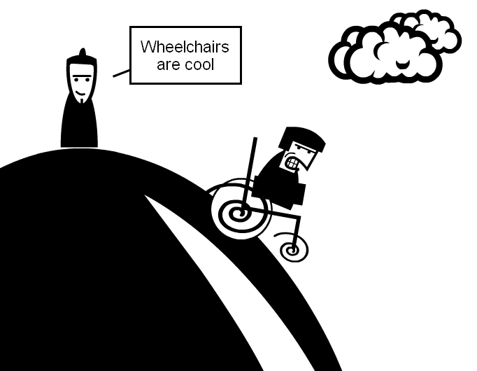 Wheelchairs are cool