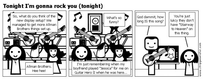 Tonight I'm gonna rock you (tonight)