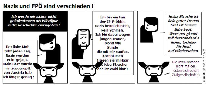 Nazis und FPÖ sind verschieden !