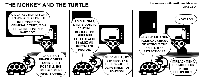 The Monkey and the Turtle (2012-02-01)