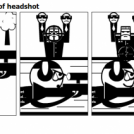 The second meaning of headshot