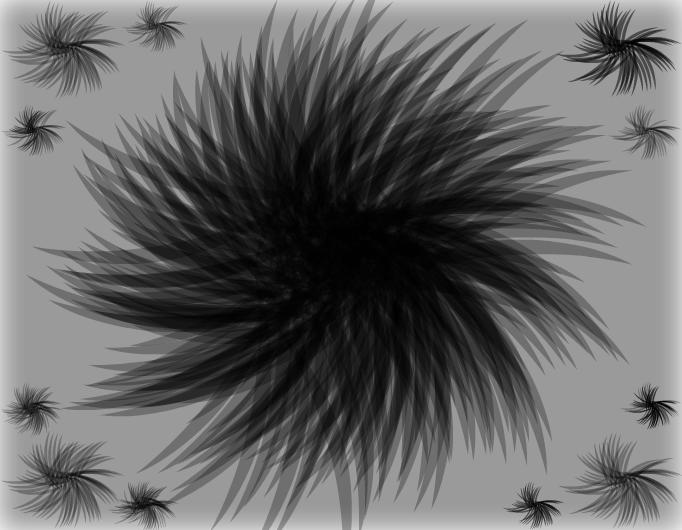 "Artwork #2 (""Black Shaded Fur"")"