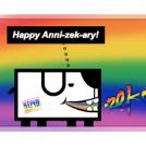 Happy Anni-zek-ary!
