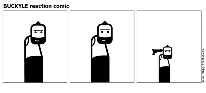 BUCKYLE reaction comic