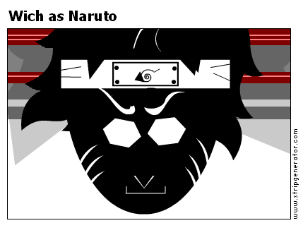 Wich as Naruto