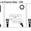 As Grandes Histórias do Pequeno Ninja - VIII