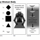Tutorial - Easy Woman Body