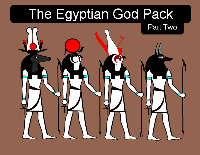 The Egyptian God Pack - part two