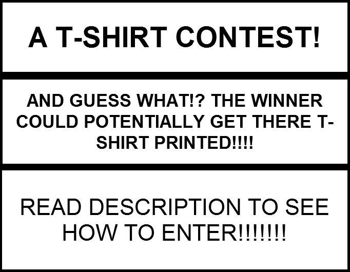 T shirt contest winner may get shirt for Get t shirt printed
