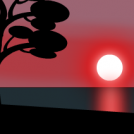 Sunset - tutorial