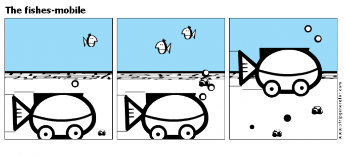 The fishes-mobile