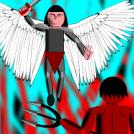 Michaël versus Lucifer/Satan