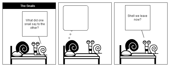 The Snails - Strip 01