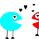 pacman and pacgirl 5