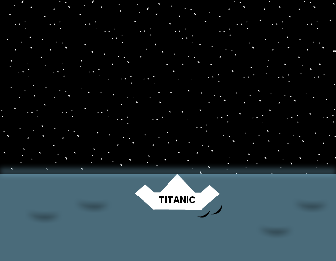 TITANIC 100 years - LAST NIGHT