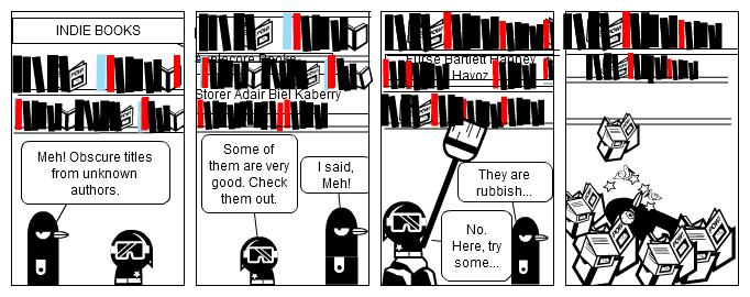 Snobby Reader