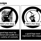 4 rules of good logo design