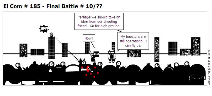 El Com # 185 - Final Battle # 10/??