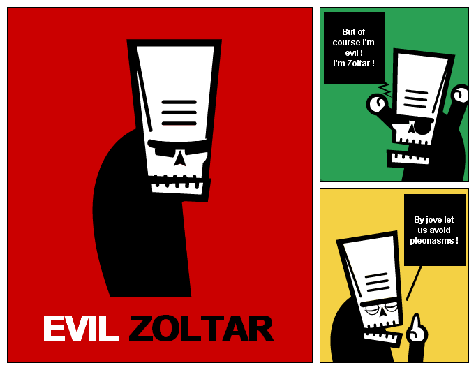 EVIL ZOLTAR
