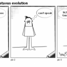 Animation 1-Gustavus evolution