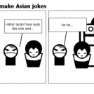 Why you shouldn't make Asian jokes